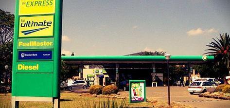 BP Petrol Station, Rivonia