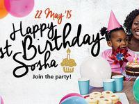 Soshnguve Crossing 1st Birthday  - Thursday, June 25th, 2015