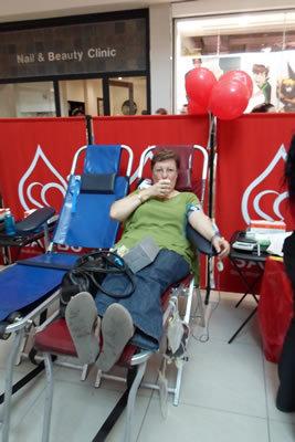 SANBS/Jacaranda FM Blood drive 23 March 2013<br />Wednesday, April 3rd, 2013