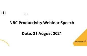 Productivity SA/NBC-PTI Webinar