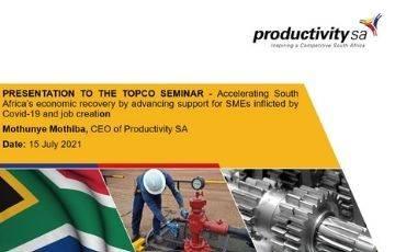 Presentation to the TOPCO Seminar
