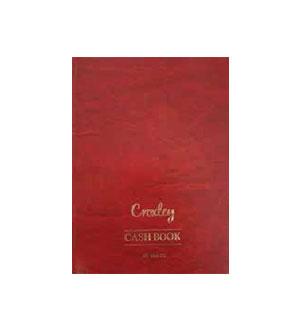 CROXLEY A4 2 QUIRE TREBLE CASH FOLIO 192 PG
