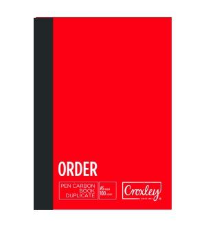 CROXLEY A5 DUPLICATE ORDER CARBON BOOK
