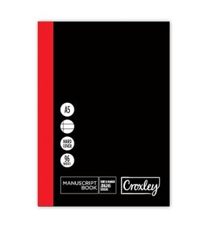 CROXLEY A5 MANUSCRIPT BOOKS