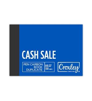 CROXLEY A6L DUPLICATE CASH SALE CARBON BOOK