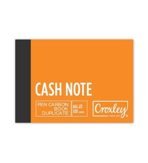 CROXLEY A6L DUPLICATE CREDIT NOTE CARBON BOOK
