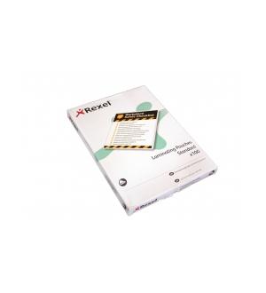 REXEL LAMINATING POUCHES 250 MIC A4 (BOX 100)