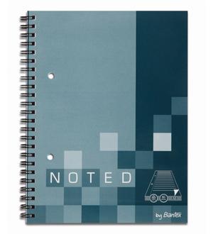 BANTEX SPIRAL BOUND SOFT COVER NOTEBOOKS