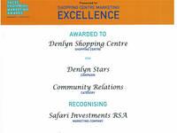 Safari won 2 prestigious sacsc footprint awards