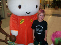 Join Miffy at Exclusive Books - Wednesday, March 18th, 2009