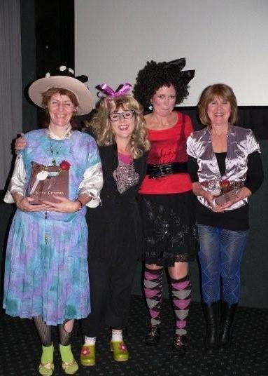 Alison Steven, Louise de Marillac, Rowena Kemp & Jan Mannix<br />Saturday, June 20th, 2009