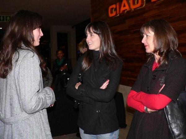 Andrea Aley,  Alexandra & Janet Kok<br />Saturday, June 20th, 2009