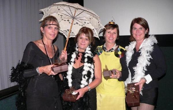 Best dressed Heidi Klerck, Caroline Osburn, Kim Sturgeon & Georgie Colling<br />Tuesday, May 5th, 2009