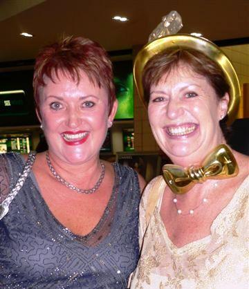 Betsie Haarhof and Carol Reynolds - Monday, February 2nd, 2009
