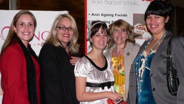 Carla Rodriguez-Schoeman, Colleen Halabi, Justine Coetzee, Cheryl Mthethwa and Sasha Havenga<br />Monday, August 31st, 2009