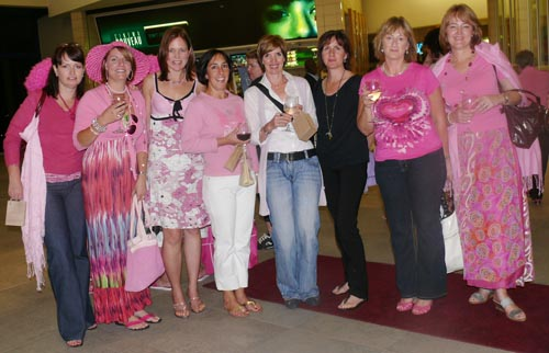 Charlotte Barton, Kirsten Beattie, Rowena Kemp, Kim van der Walt, Imelda Fincham, Moira Sheridan, Mandi Fuller and Sandy O Dwyer<br />Thursday, November 5th, 2009