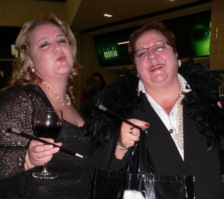 Christie-Anne Wolmarans and Susan Owen<br />Monday, August 31st, 2009