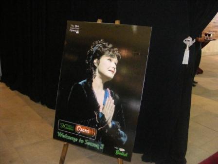 Opera Launch - Giacomo Puccini's Tosca<br />Tuesday, November 17th, 2009