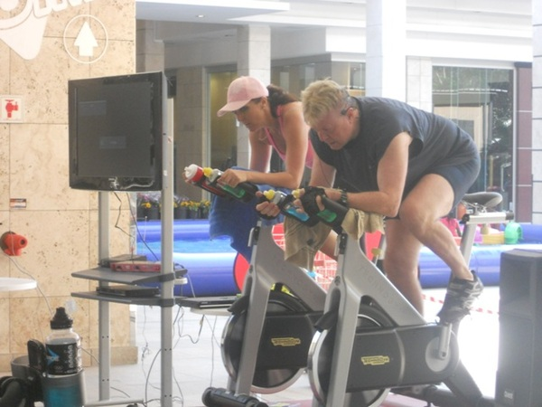 Cedar Square and Virgin Active Spinathon<br />Friday, October 26th, 2012
