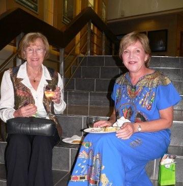 Doris Lotter & Mary Kaeflein<br />Monday, March 16th, 2009