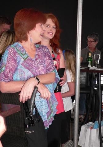 Gizelle Lavel and Monique Ireland<br />Wednesday, November 11th, 2009
