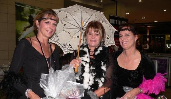 Heidi Klerck, Caroline Osburn & Petra Lester<br />Tuesday, May 5th, 2009