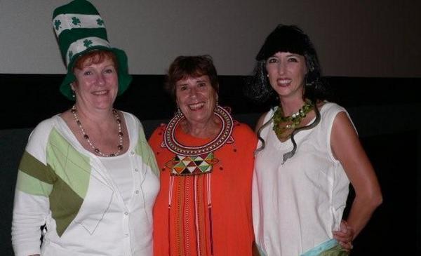 Helen Langridge & Corli Markgraaf each won R1,000 voucher from Secret Garden, with Kate<br />Monday, March 16th, 2009