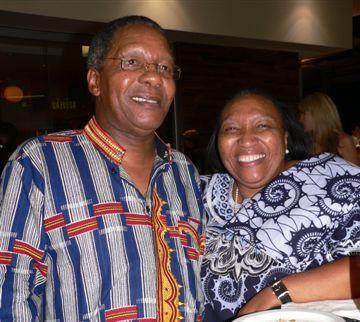 Joe and Thandi Chaane<br />Wednesday, February 18th, 2009