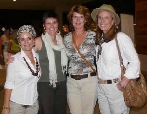 Kim Esterhuizen, Shehady Nadauld, Georgie Collig and Samantha Bester - Monday, February 22nd, 2010