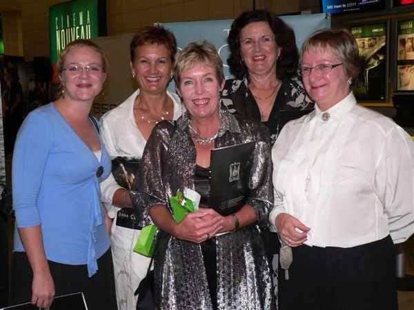 Leigh-Anne Sargent, Mandy Thomson, Sally Baikie, Carina Wiggill and Penny Crawford<br />Monday, February 2nd, 2009