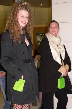 Lexi & Claudia Ochayon<br />Monday, May 25th, 2009