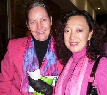 Linda van den Berg & Helen Cao<br />Monday, May 25th, 2009