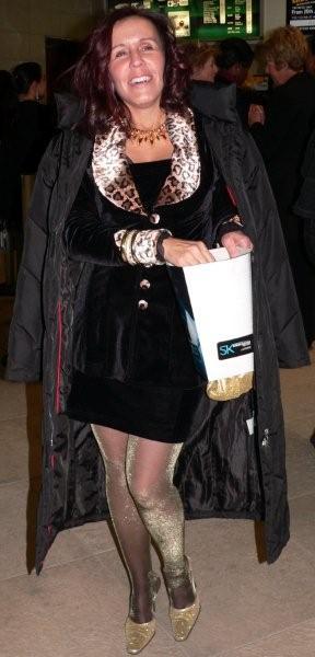 Louisa Berger blinging it on!<br />Thursday, July 23rd, 2009
