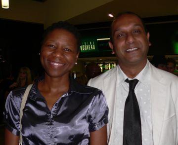 Magogodi Motsabi and Kirtan Bhana<br />Wednesday, February 18th, 2009