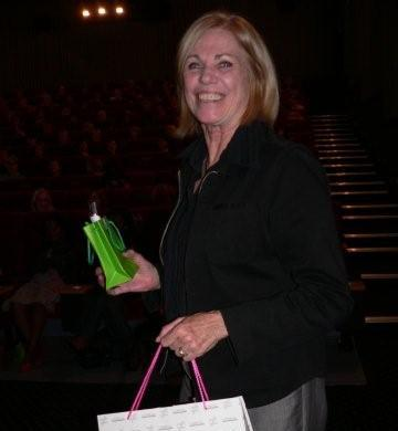 Maureen Arthur, winner of a L'Oreal hamper from Off Your Head, valued at R1,780<br />Monday, March 16th, 2009