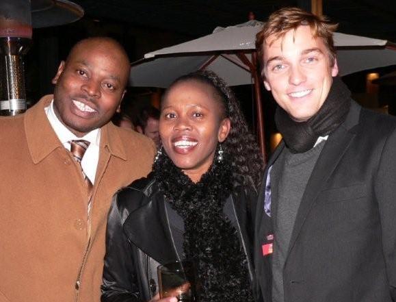 Patrick Makhubilu, Dr Maggie Mojapelo & Michael Eilertsen<br />Friday, June 12th, 2009