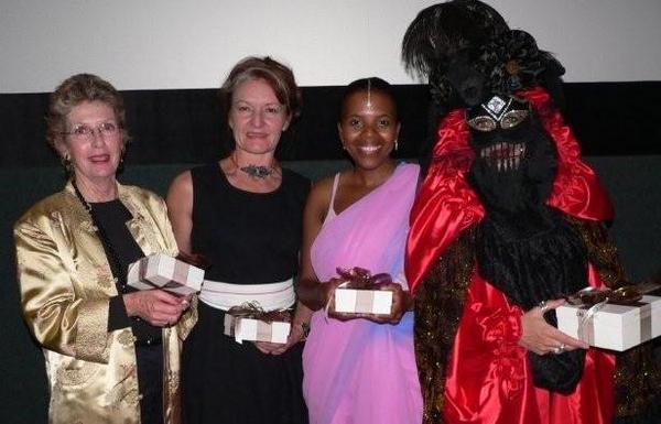 Jenna Clifford prize winners Mary Campos, Anna van Heerden, Zama Zulu & Alessandra Leunardi-Lollis<br />Monday, March 16th, 2009