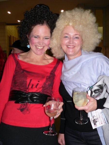 Rowena Kemp & Sandy 'O Dwyer<br />Saturday, June 20th, 2009