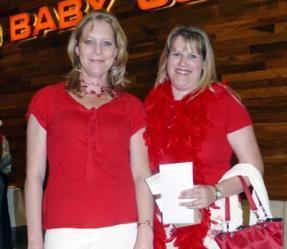 Sue McLaggan and Kirsten Harris<br />Monday, November 30th, 2009