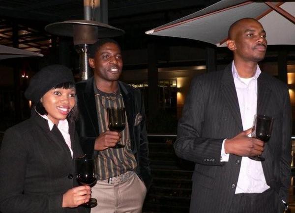 Tabitha Ngcakaza, Solly Mlondobozi & Prins Mhlanga<br />Friday, June 12th, 2009