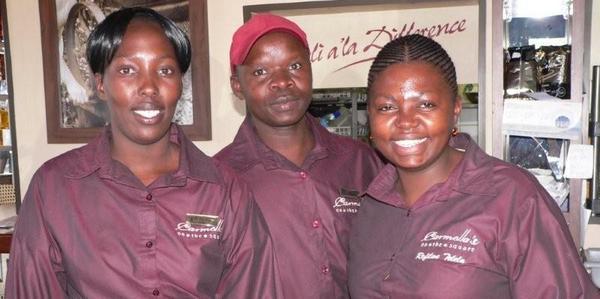 Zandile Hlongwane, Sipho Ntabeni & Refilwe Telela<br />Monday, May 11th, 2009