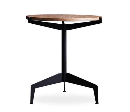 EINDHOVEN SIDE TABLE WITH 22MM OAK VENEER WOOD TOP
