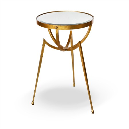 Rocket Side Table With A 5mm Bevelled Mirror Top