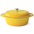 yellow casserole - 32cm x 16cm