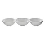linked condiment bowls - 30cm