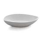 shallow leaf-shaped bowl