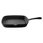 24cm grill pan - matte black