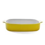 33.5cm rectangular baker - yellow