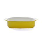 25.5cm rectangular baker - yellow
