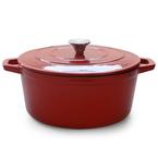 red round casserole | 28cm